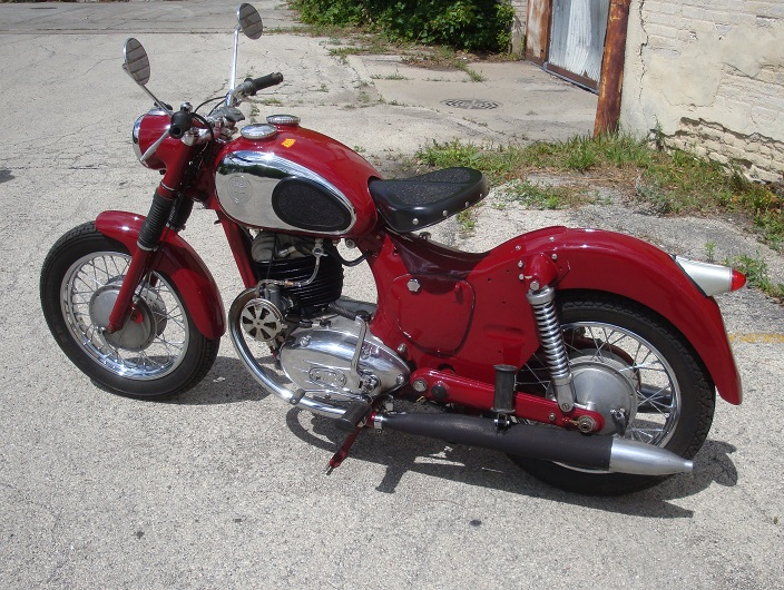 Motor West - For Sale by Customer on 1954 allstate car, 1954 cushman scooter, 1954 lambretta scooter,