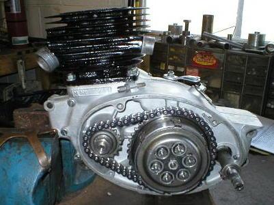 Puchresto on Puch Split Single Engine